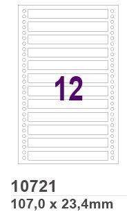 Etiqueta Matricial 10721