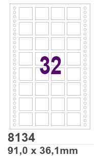 Etiqueta Matricial 8134