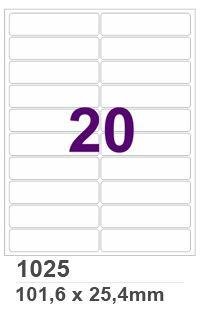 Etiqueta INK JET / LASER Carta - 1025